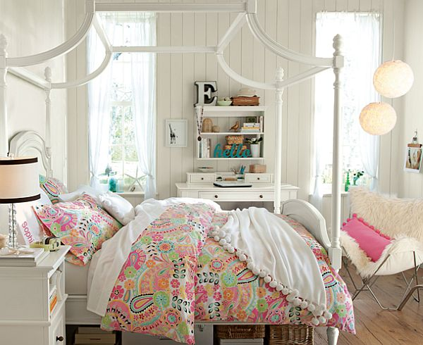 Teenage Girl Bedroom Decorating (3)