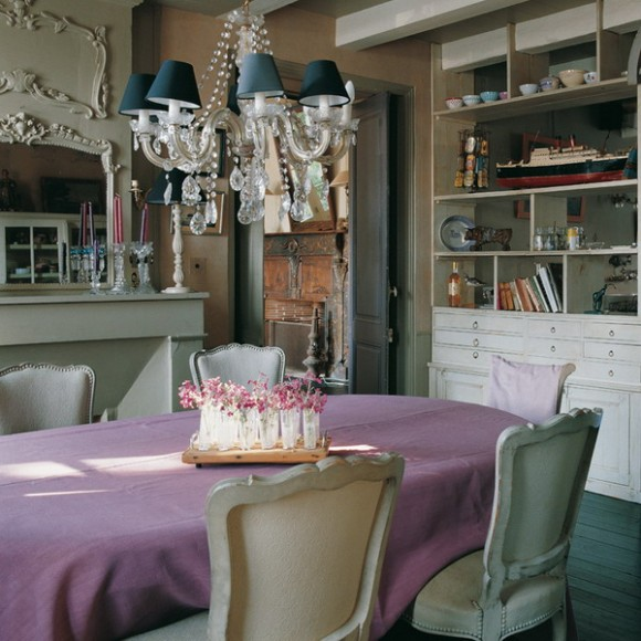 French dining room design (41)