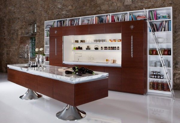 library-kitchen