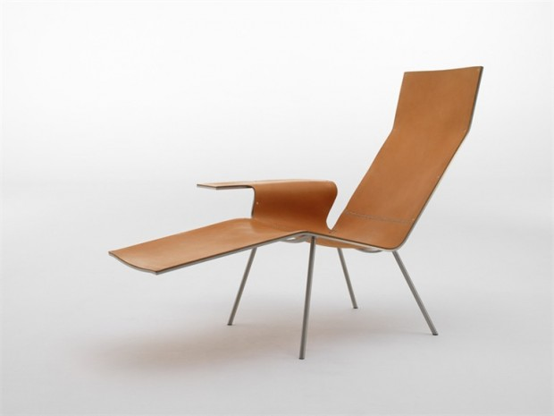 leather lounge chair modern furniture