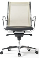 office chair leather mesh