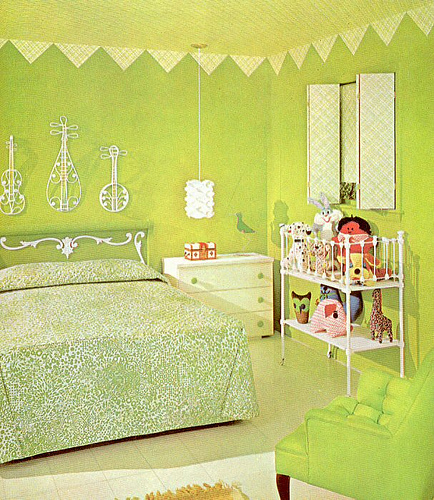 charming green bedroom ideas
