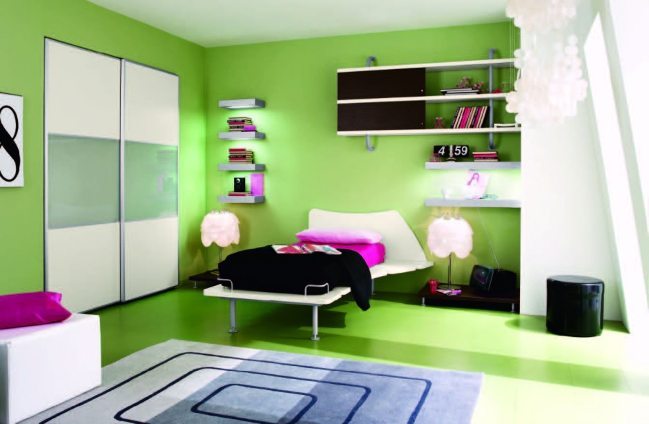 stunning green bedroom decoratin ideas