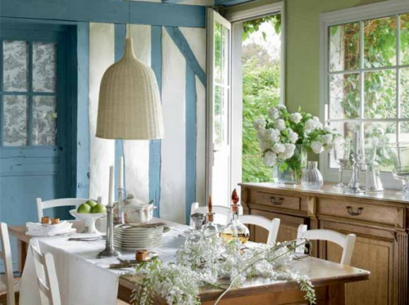 French dining room design (31)
