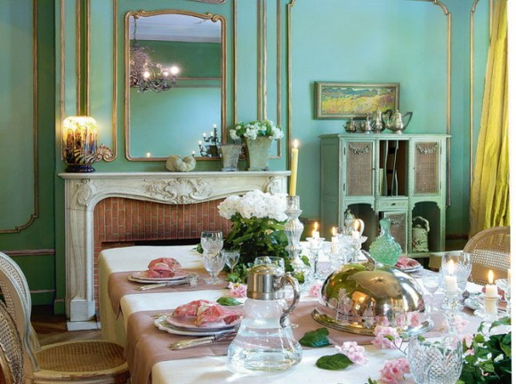 French dining room design (51)