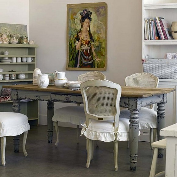 French dining room design (37)