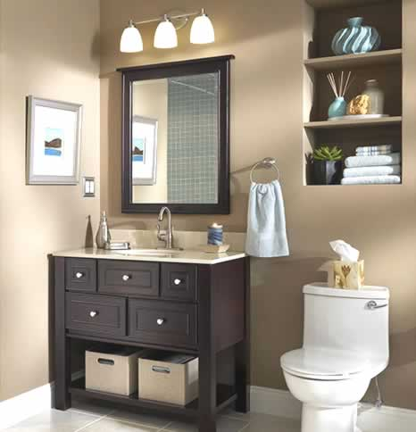 bathroom vanity lighting for small bathroom