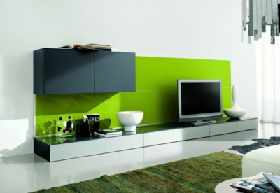 minimalist green interior decor ideas for living room