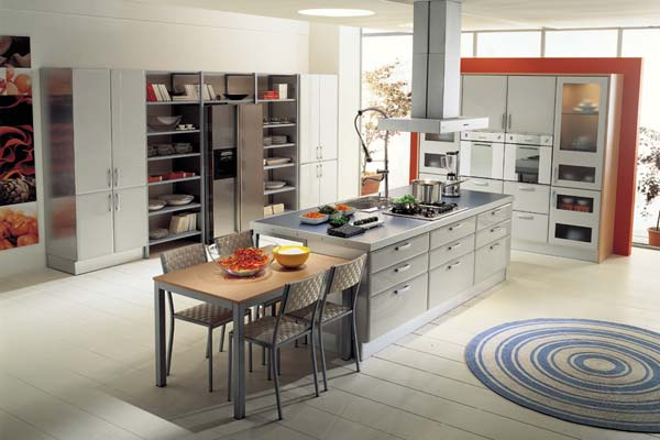modern kitchen cabinets - very functional