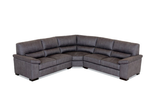 beautiful black corner lounge sofa by king sofa