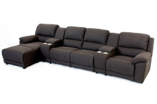 cozy sofa for home theater by King Sofa
