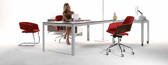perfect office and table chair combination