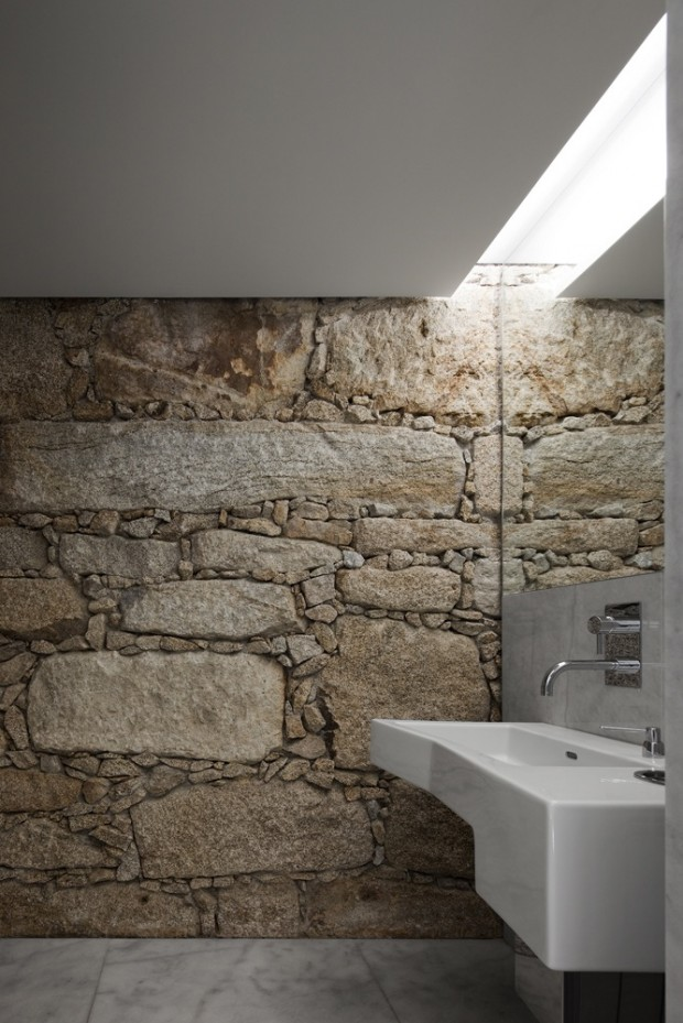 granite natural stone bathroom