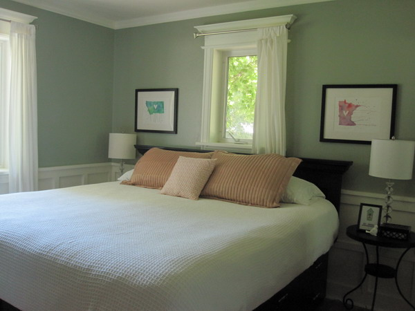 Green Bedroom Paint House Beautiful House Beautiful